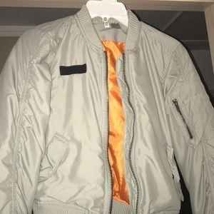 H&M Grey Utility Jacket